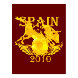 Spain Soccer Postcard