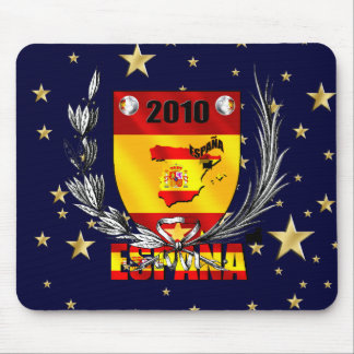 Spain Soccer Stars Shield Mouse Pad