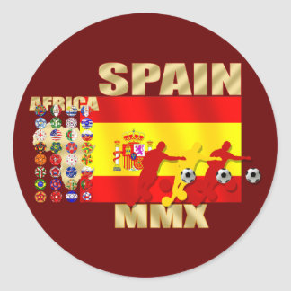 Spain Soccer Stickers
