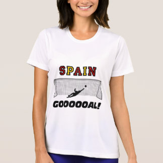 Spain soccer tee shirts