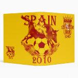 Spain Soccer Vinyl Binders