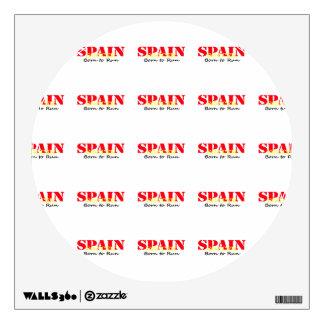 Spain Soccer Wall Sticker