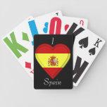 Spain Spanish Flag Bicycle Card Decks