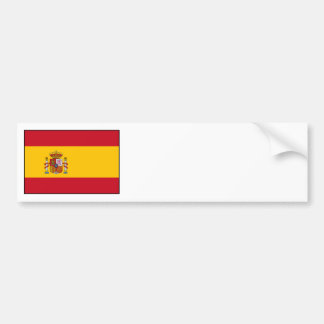 Spain – Spanish Flag Bumper Sticker