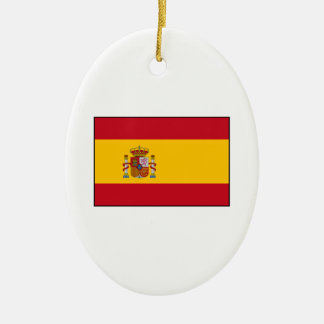 Spain – Spanish Flag Ceramic Ornament