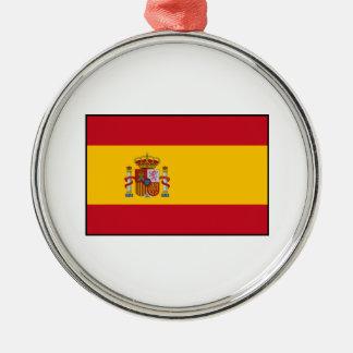 Spain – Spanish Flag Metal Ornament