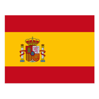 Spain – Spanish Flag Postcard