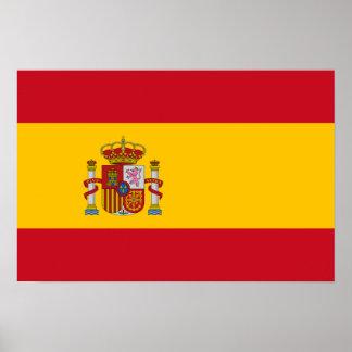 Spain – Spanish Flag Poster