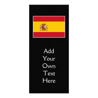 Spain – Spanish Flag Rack Card