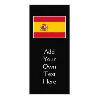 Spain – Spanish Flag Rack Card