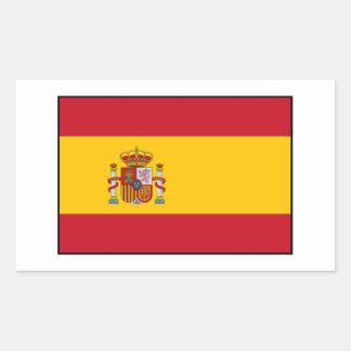 Spain – Spanish Flag Rectangular Sticker