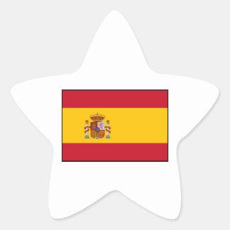 Spain – Spanish Flag Star Sticker