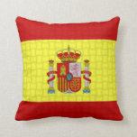 Spain Spanish Flag Throw Pillows