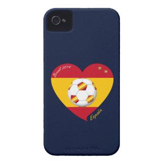"Spain Spanish Football Soccer Team SOCCER ""SPAIN "" Case-Mate iPhone 4 Case"