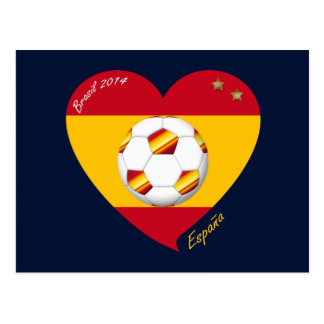 "Spain Spanish Football Soccer Team SOCCER ""SPAIN "" Post Cards"