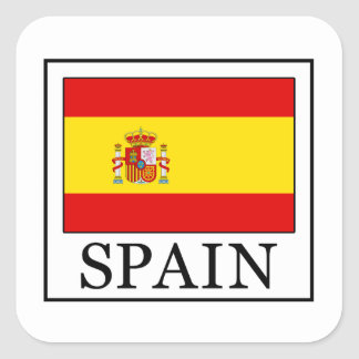 Spain Square Sticker