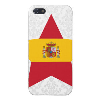 Spain Star Cover For iPhone 5