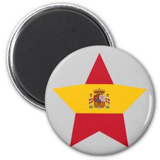 Spain Star Fridge Magnet