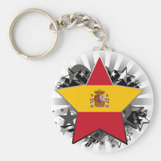 Spain Star Key Chains