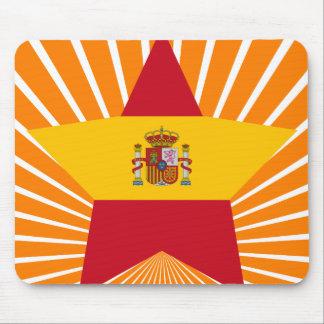 Spain Star Mousepads