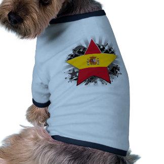 Spain Star Pet Tee