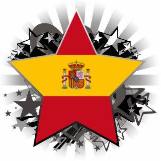 Spain Star Photo Cutouts