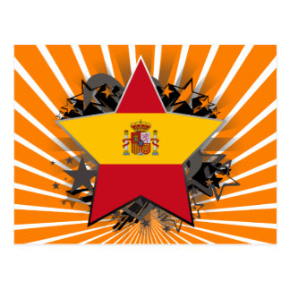 Spain Star Post Card