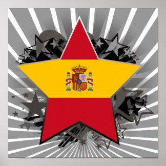 Spain Star Posters