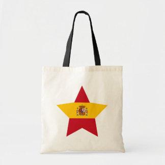 Spain Star Tote Bag