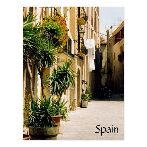 spain street postcard