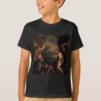 Spain Succouring Religion by Titian T-Shirt