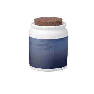 Spain sunset candy jars