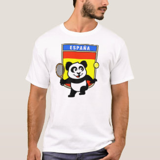 Spain Tennis Panda T-Shirt