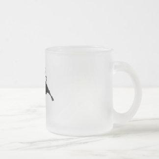 Spain Torro Salvaje Frosted Glass Coffee Mug