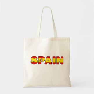 Spain tote bag