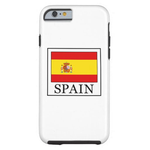 Spain Tough iPhone 6 Case
