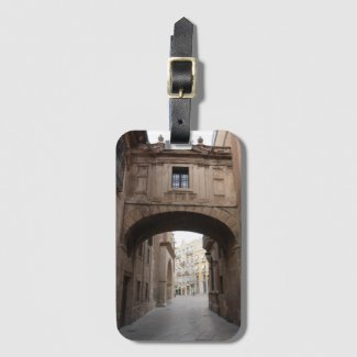 Spain Travel Destination Luggage Tag