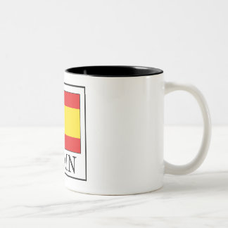 Spain Two-Tone Coffee Mug