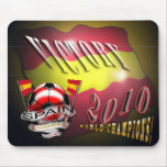 Spain Victory 2010 World Cup World Champions pads Mousepad