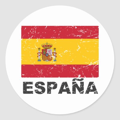 Spain flag heart sticker zazzle com