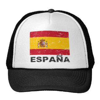 Spain Vintage Flag Trucker Hat
