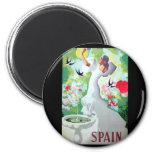 Spain Vintage Image Magnets
