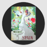 Spain Vintage Image Sticker
