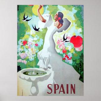 Spain Vintage Poster Print