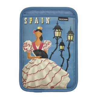SPAIN Vintage Travel device sleeves iPad Mini Sleeve