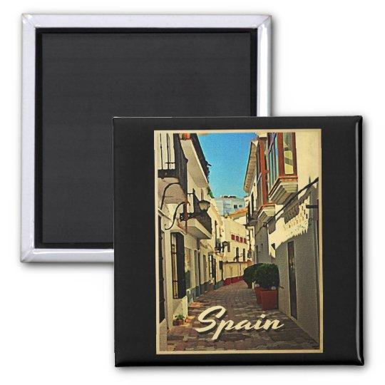 Spain Vintage Travel Magnet