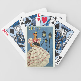 SPAIN Vintage Travel playing cards