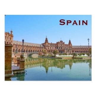 Spain Vintage Travel Tourism Add Postcard