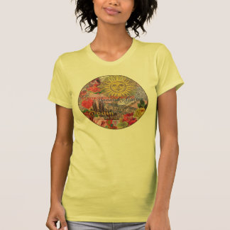 Spain Vintage Trendy Spanish Travel Collage T Shirt