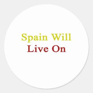 Spain Will Live On Sticker